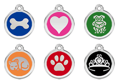 Enamel Pet ID Tags for Dogs