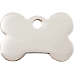 Stainless Steel Bone ID Tag 02 BN ZZ