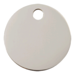Stainless Steel Circle ID Tag 02 CL ZZ