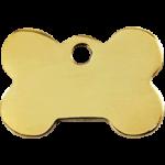 Brass Bone ID Tag 03 BN ZZ