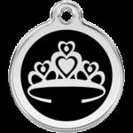 Enamel Crown Tag CR